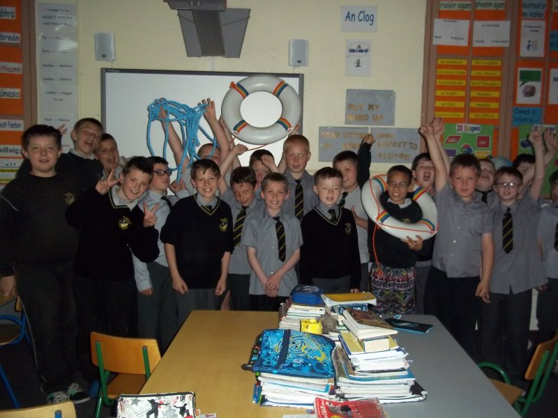 Bishop Murphy Memorial School,  3rd and 4th class